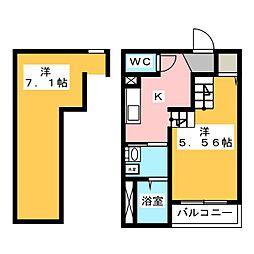 Grand Room 博多[1階]の間取り