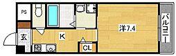 A-1satuma[3階]の間取り
