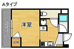 ローブル尾崎[2階]の間取り