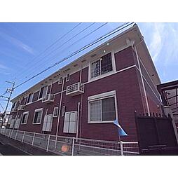 奈良県磯城郡三宅町伴堂の賃貸アパートの外観