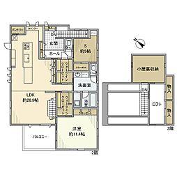 [一戸建] 神奈川県横浜市旭区上白根町 の賃貸【/】の間取り
