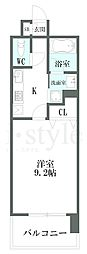 CHIKUSA AVANT−GARDE PLACE(千種アヴ[9階]の間取り