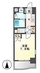 昴名駅南[4階]の間取り