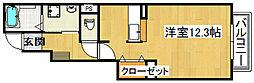 ポンテリブロK・II[1階]の間取り