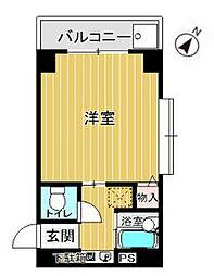 プレアール白金[3階]の間取り