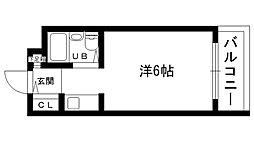 ダイドーメゾン門戸II[305号室]の間取り