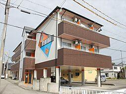 和歌山県御坊市湯川町財部の賃貸マンションの外観