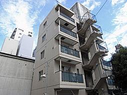 三恵アパートメント[1階]の外観