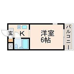 NEOダイキョー北昭和II[4階]の間取り