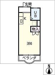 アーバンライフK[3階]の間取り