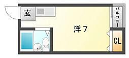 プレアール上神田[3階]の間取り