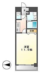 CASSIA錦本町通(旧スタジオスクエア錦)[10階]の間取り