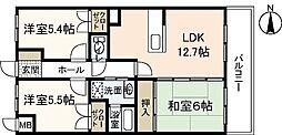 メゾンFS[2階]の間取り