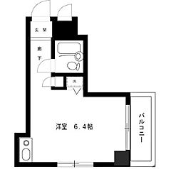 ライオンズマンション八王子第二[6階]の間取り