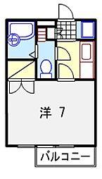 兵庫県姫路市白国2丁目の賃貸マンションの間取り