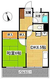 コジマ・コーポ[3階]の間取り