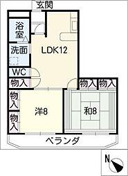 MO−VII[3階]の間取り