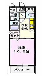 Soleil Honjin (ソレイルホンジン)[5階]の間取り