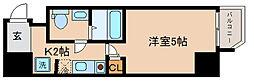 兵庫県神戸市中央区中町通3丁目の賃貸マンションの間取り