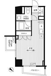 Ti−HIGASHIAZABU[304号室]の間取り