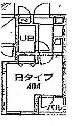 クレッセント小石川植物園[4階]の間取り
