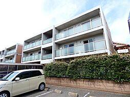 千葉県松戸市串崎新田の賃貸マンションの外観