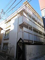 東京都新宿区改代町の賃貸マンションの外観