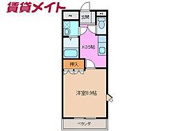 伊勢朝日駅 4.5万円