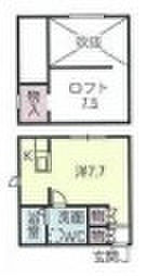プリマG壱番館[1階]の間取り