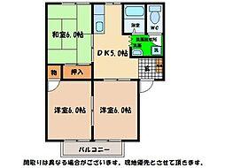 徳島県徳島市新浜本町3丁目の賃貸アパートの間取り
