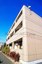 神奈川県平塚市馬入本町の賃貸マンションの外観