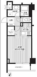 グランハイツ代々木[13階]の間取り