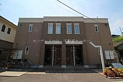 岡山県岡山市中区東山3丁目の賃貸アパートの外観