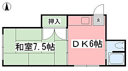 鉄砲町駅 2.5万円