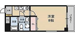第2クリスタルハイム新大阪[202号室]の間取り