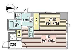 ルラシオン札幌駅前[8階]の間取り