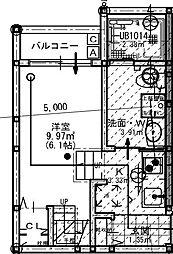 福岡県福岡市東区唐原1丁目の賃貸アパートの間取り