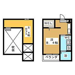セレーネ豊田本町[1階]の間取り