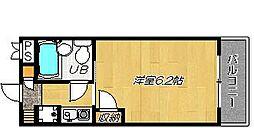アーバンネスト吉田[2階]の間取り