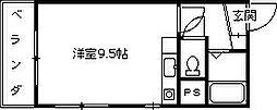 メゾン・ド・リアン[301号室]の間取り