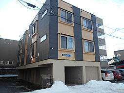北海道札幌市豊平区平岸六条9丁目の賃貸アパートの外観