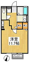 エクセル東合川[1階]の間取り