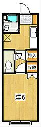 VILLA SUZUKI[207号室]の間取り
