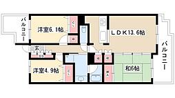 山手通シティハウス[12階]の間取り