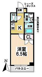 愛知県名古屋市昭和区紅梅町1の賃貸マンションの間取り