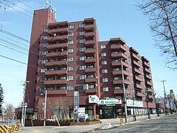 北海道札幌市白石区南郷通2丁目北の賃貸マンションの外観