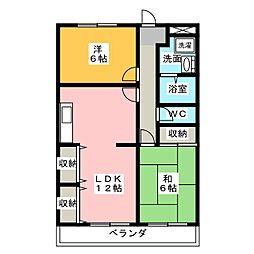 西川田駅 3.9万円