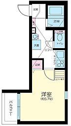 Casa Dolce Higashi Nakano[3階]の間取り