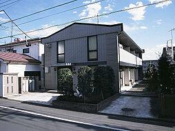 東京都福生市加美平2の賃貸アパートの外観