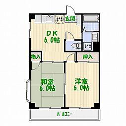 マンション・ナガセ[0101号室]の間取り